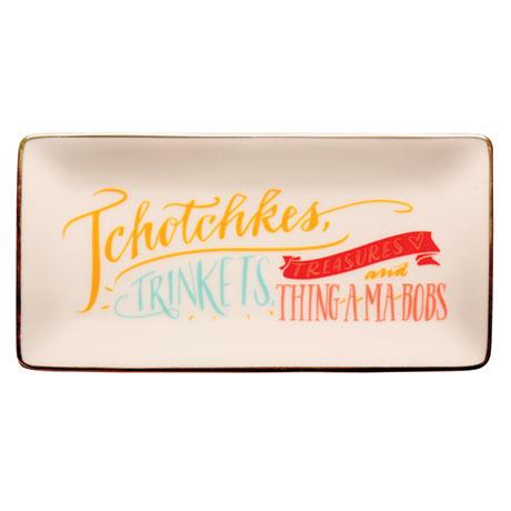 Porcelain Tchotchkes Tray