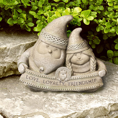 Celtic Gnomes Garden Sculpture
