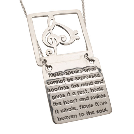 Two-Piece Music Lover's Necklace