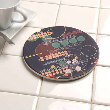 Frank Lloyd Wright® Midway Mural Trivet