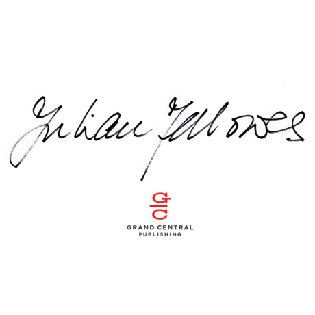 Julian Fellowes: Belgravia Signed Book