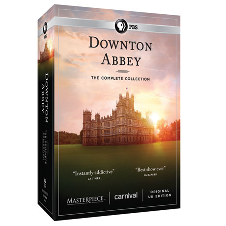 PRE-ORDER Downton Abbey: The Complete Series - Unedited UK Edition