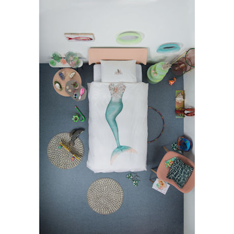 Kids' Dress-Up Bedding - Mermaid