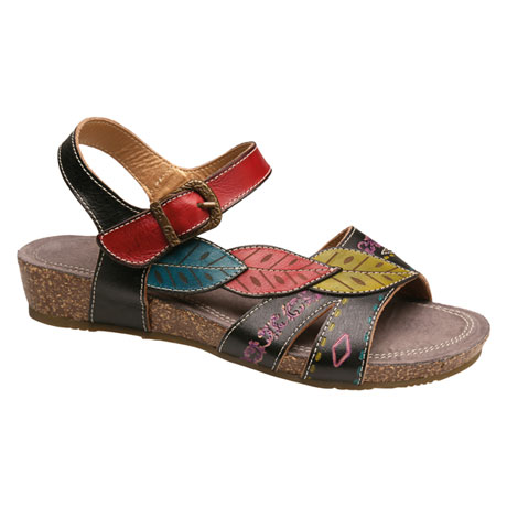 Hand-Painted Kukonda Sandals