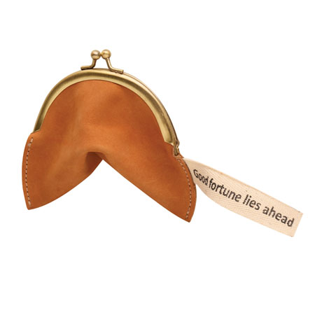 Fortune Cookie Coin Purse
