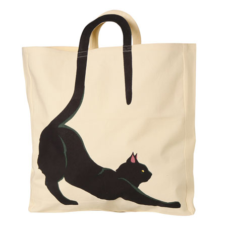 Cat Tail Tote