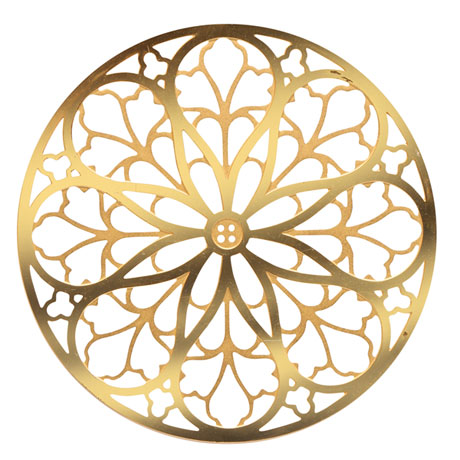 Rose Window Ornaments