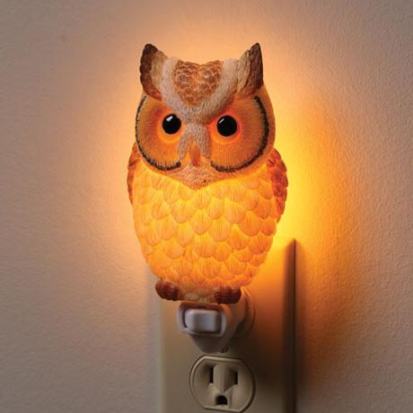 Hoot Owl Nightlight