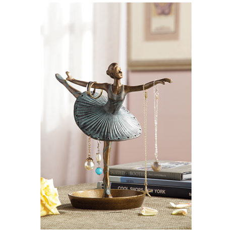 Ballerina Jewelry Holder