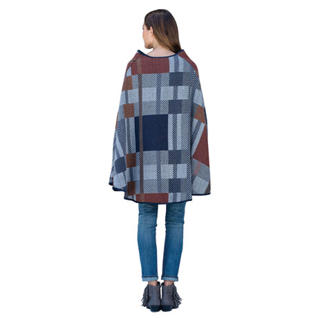 Plaid Sedona Capelet