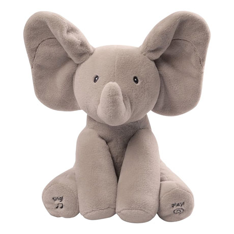 Animated Flappy The Elephant Talking and Singing Plush