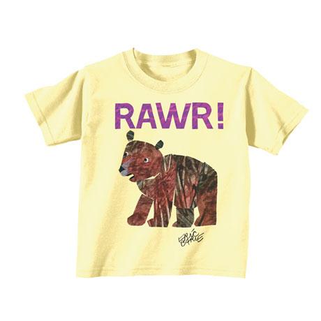 Eric Carle RAWR! Toddler Tee