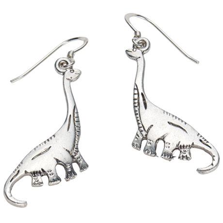 Dinosaur Earrings - Brontosaurus