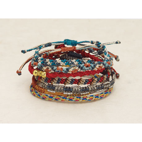 The Continents Bracelets