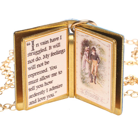Charmed Books Pendants