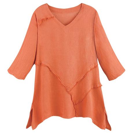 Weekend Linen Tunic