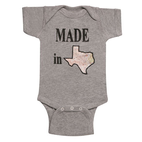 Made in State Baby Snapsuit