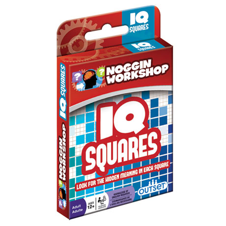 Outset Media Noggin Workshop IQ Squares Puzzle
