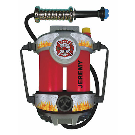 Personalized Fire Power Super Fire Hose with Back Pack