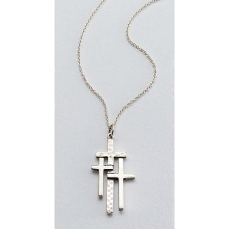 Calvary Crosses Necklace