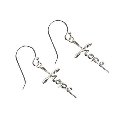 Hope Cross Earrings