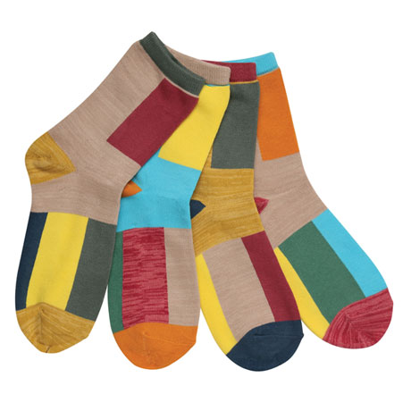Mix & Match Color-Blocked Socks