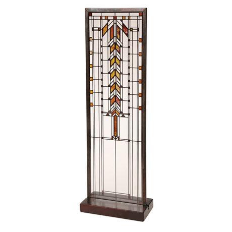 Frank Lloyd Wright® Art Glass Panels - Barton House Buffet Door