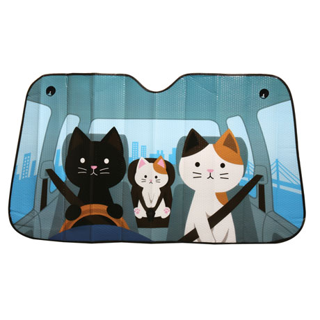 Cute & Funny Animal Car Windshield Sun Shades
