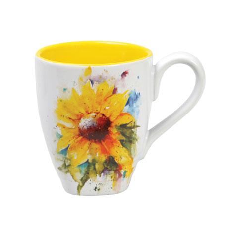 Watercolor Flower Mugs