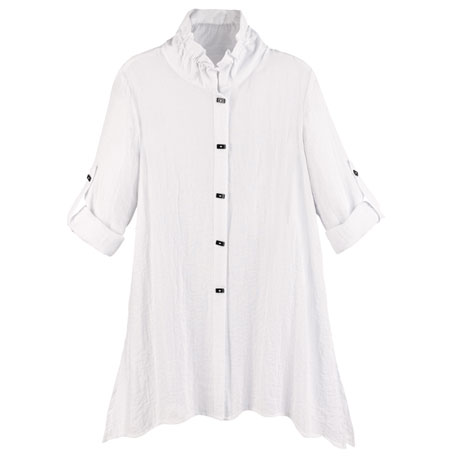 Wired Collar Tunic