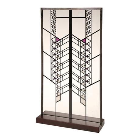 Frank Lloyd Wright® Art Glass Panels - Hollyhock House Sidelight