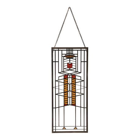 Frank Lloyd Wright® Art Glass Panels - Robie House Window