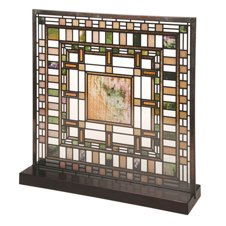 Frank Lloyd Wright® Art Glass Panels - Darwin Martin House Laylight