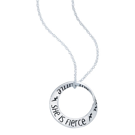 She is Little She is Fierce Necklace