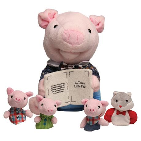 Preston the Storytelling Pig