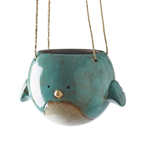 Bluebird Hanging Planter