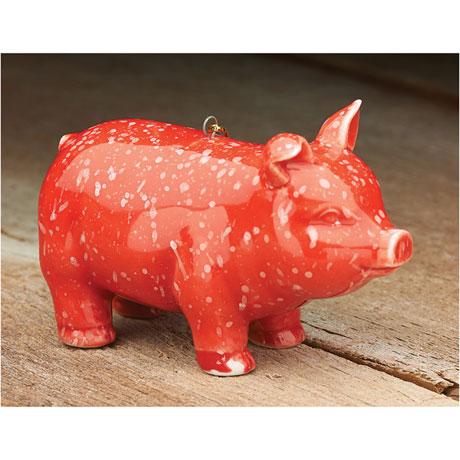 Prosperity Pig Ornament