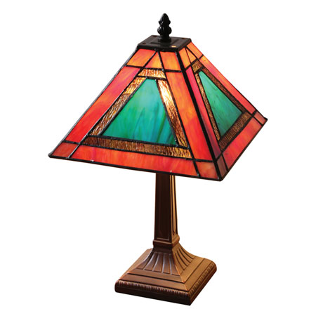 Mission Style Accent Lamp