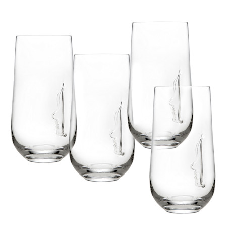 Silhouette Highball Glasses Set