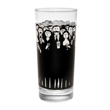 Edward Gorey Cocktail Hour Glasses Set