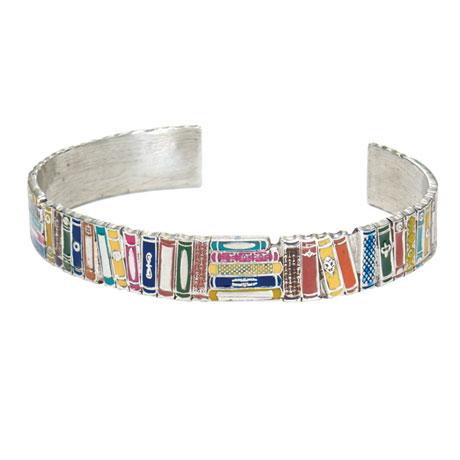 Books Cuff Bracelet