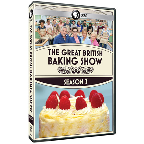 The Great British Baking Show: Season 3 DVD