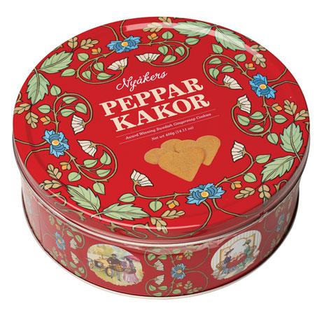 Swedish Pepparkakor Gingersnap Cookies