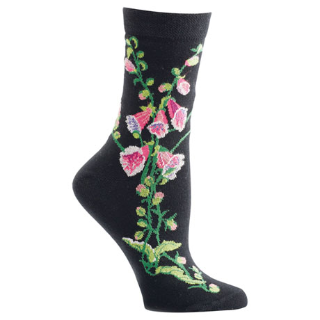 Witches' Garden and Apothecary Floral Socks