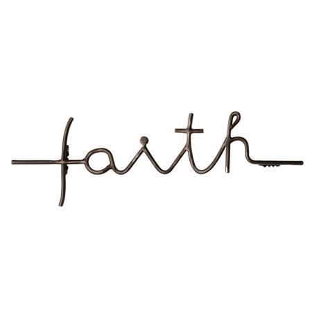 Faith Wall Cross