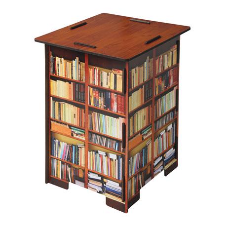 Books Stool With Storage Bin