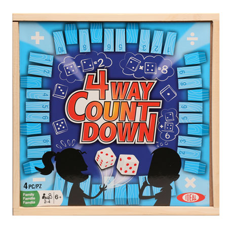 4-Way Countdown Game
