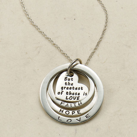 The Greatest of These Is Love Necklace