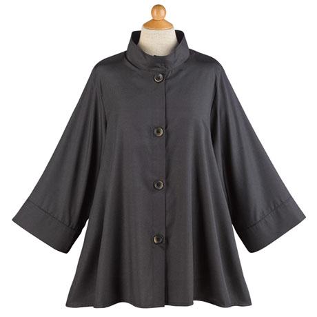 Iridescent Swing Jacket