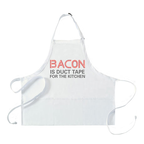 Bacon Is Duct Tape for the Kitchen Apron